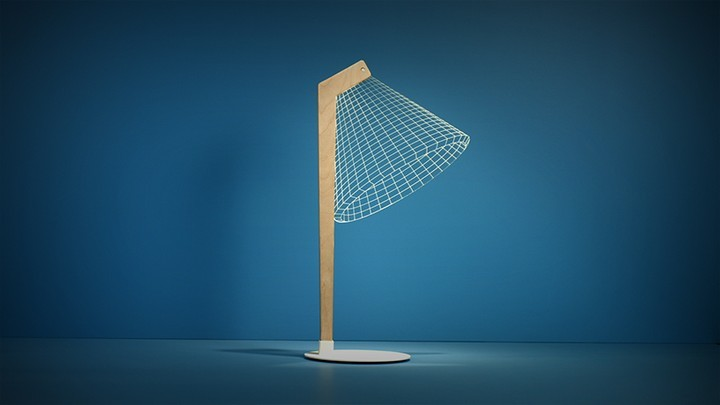Удивительная плоская лампа дающая иллюзию объема (5)