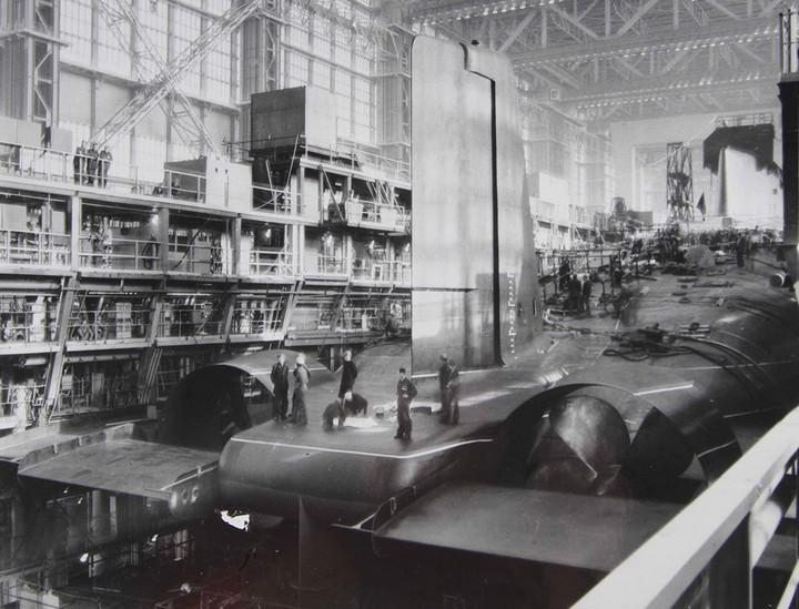 «Акула» — cамая большая подводная лодка в мире (6)