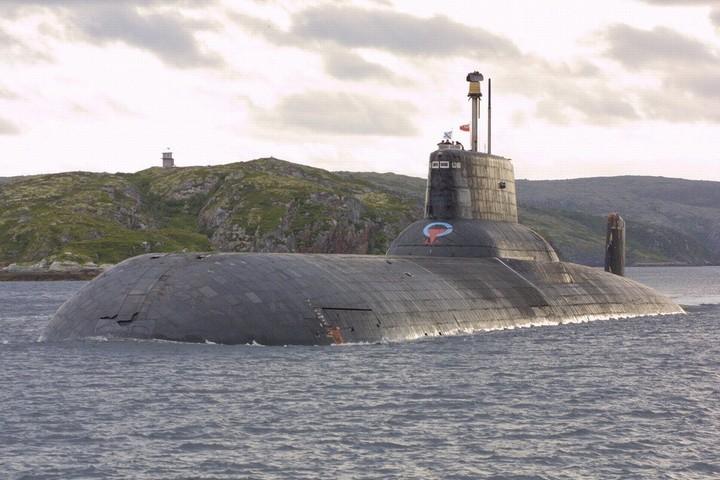 «Акула» — cамая большая подводная лодка в мире (10)