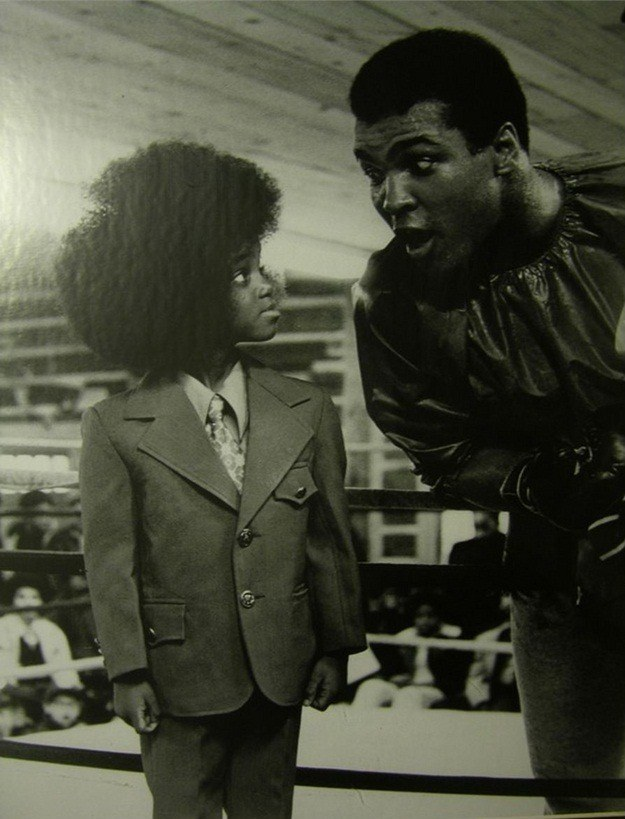 Мохаммед Али и юный Майкл Джексон