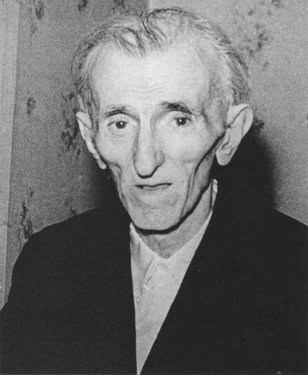 Последняя фотография Николы Тесла, 1943 год.