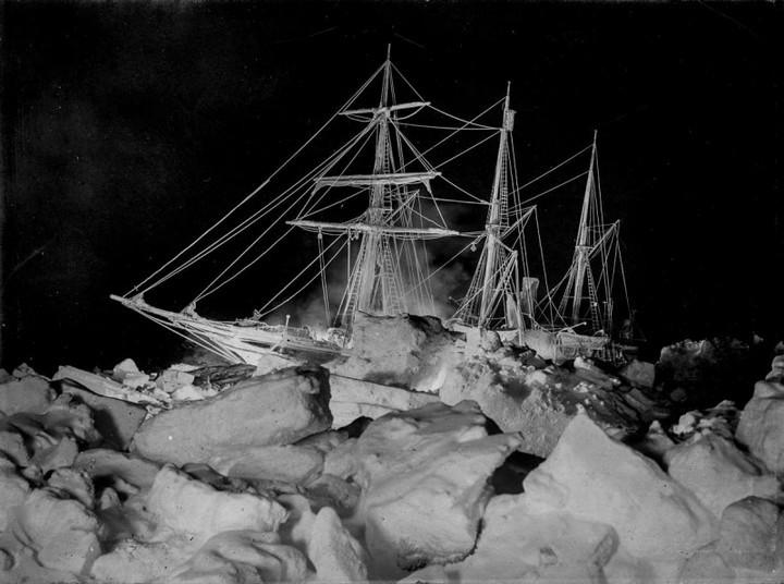 «Эндьюранс», или История выживания 28 человек среди льдов Антарктики (1)