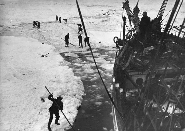 «Эндьюранс», или История выживания 28 человек среди льдов Антарктики (7)
