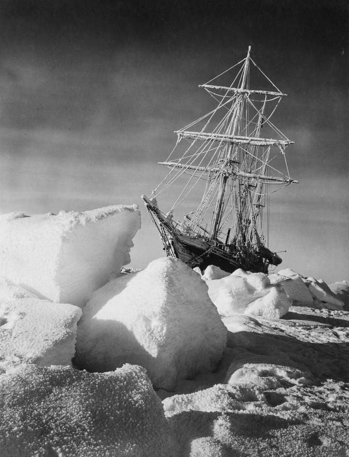 «Эндьюранс», или История выживания 28 человек среди льдов Антарктики (8)