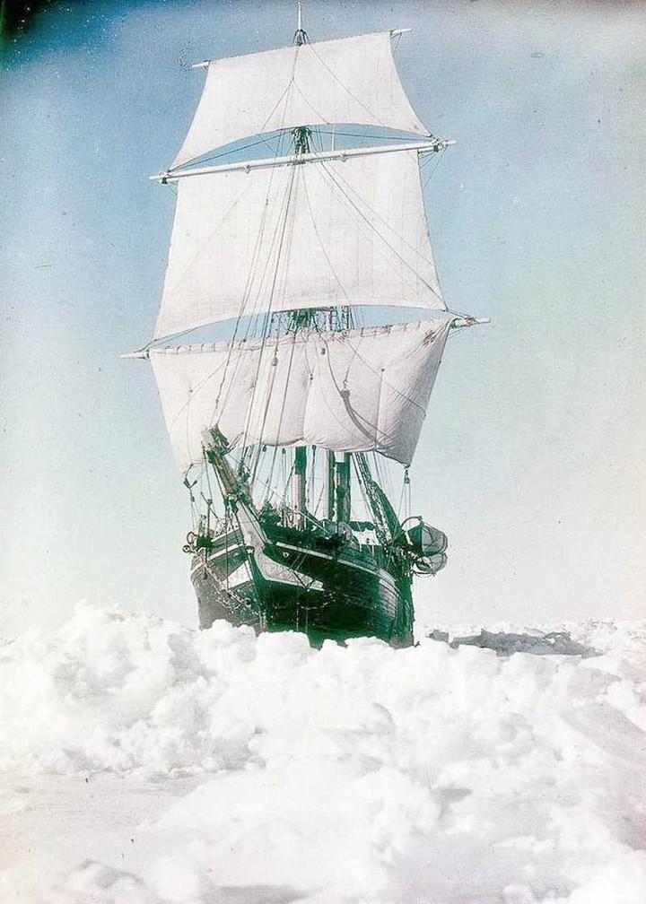 «Эндьюранс», или История выживания 28 человек среди льдов Антарктики (11)