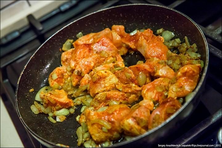 Курица-карри в сливочном соусе (8)
