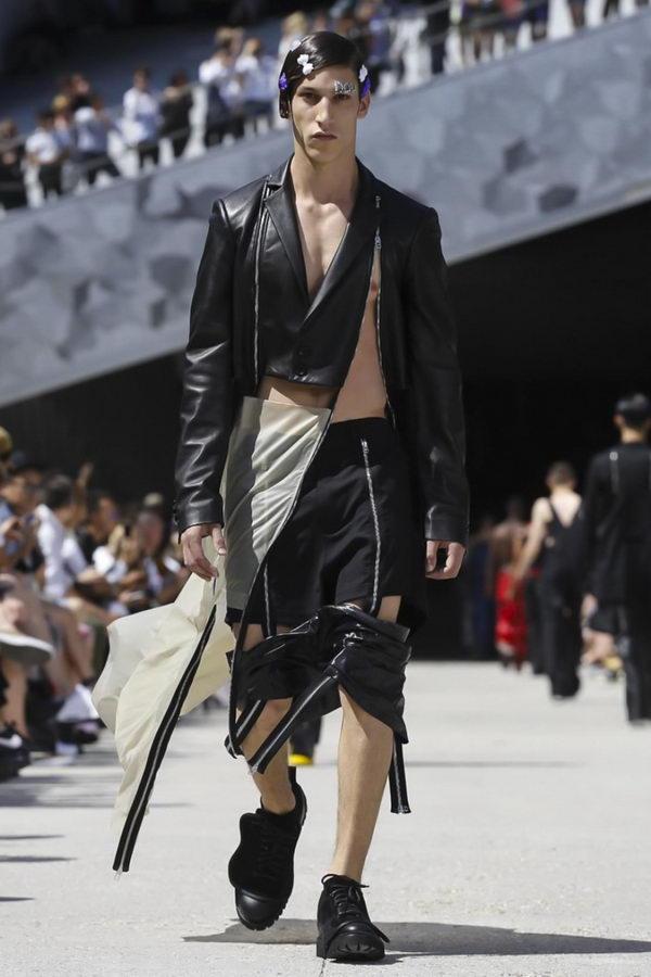 Мужская мода из Парижа или модельеры продолжают глумиться (13)
