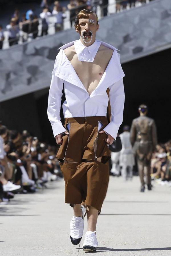 Мужская мода из Парижа или модельеры продолжают глумиться (15)
