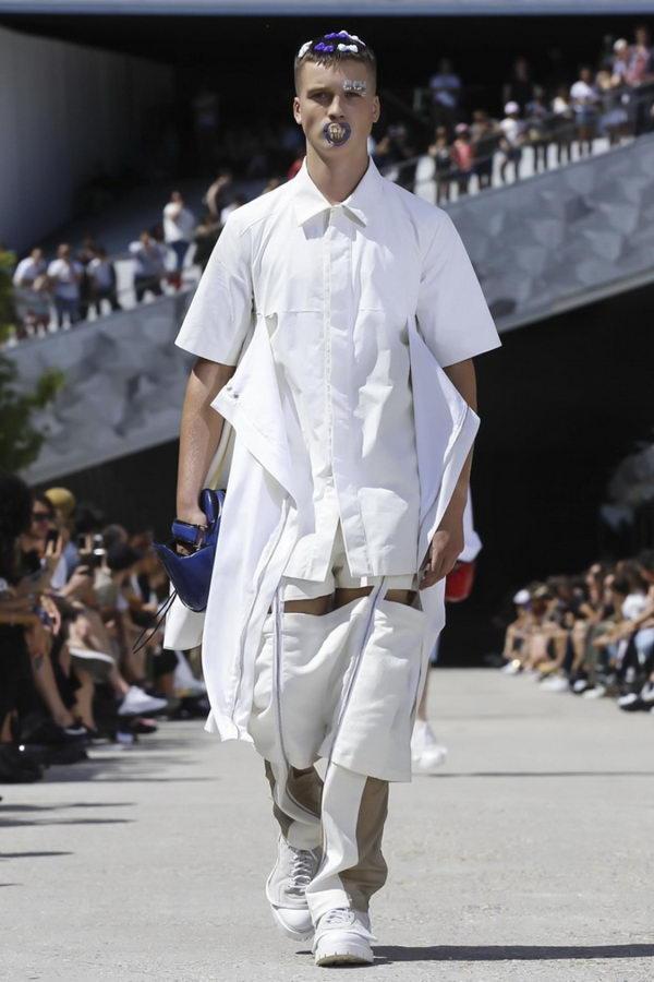 Мужская мода из Парижа или модельеры продолжают глумиться (3)