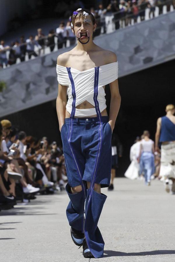 Мужская мода из Парижа или модельеры продолжают глумиться (8)
