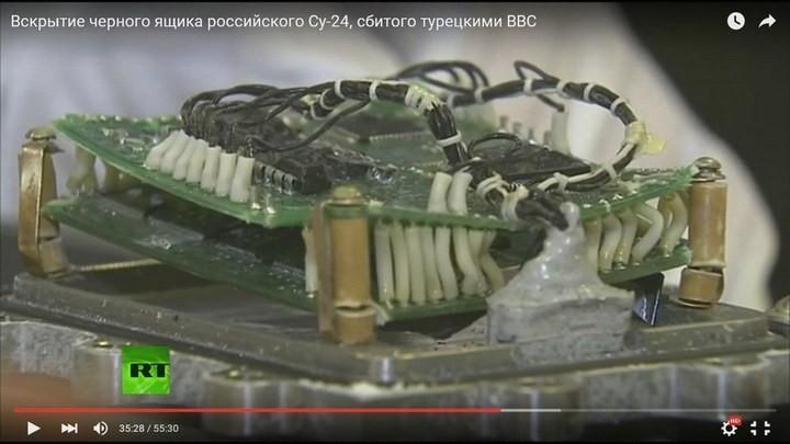 Вскрытие чёрного ящика с самолёта СУ-24М. Cтыдно за отечественную электронику! Опозорились на весь мир (8)