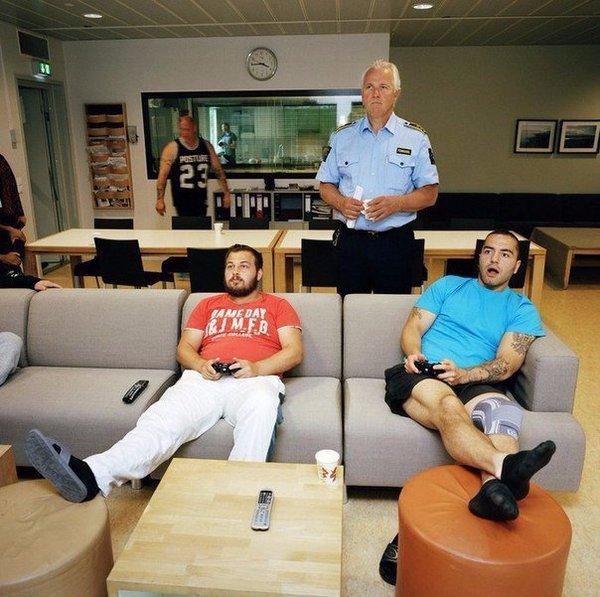 фото тюрьмы в Норвегии (1)