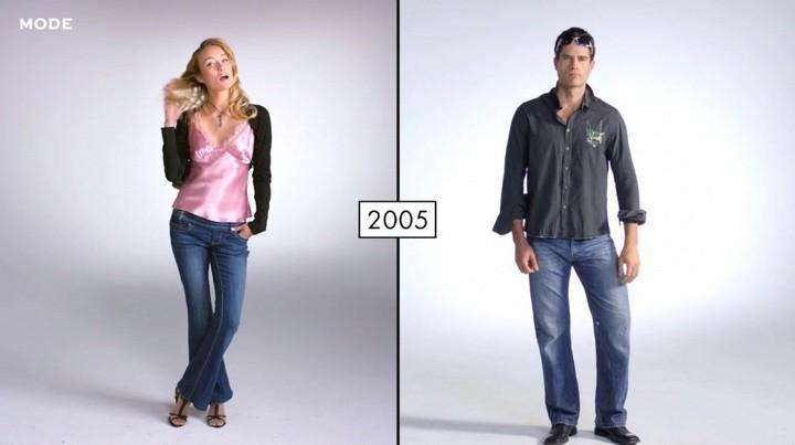 Как менялась мода в течении последних 100 лет (10)