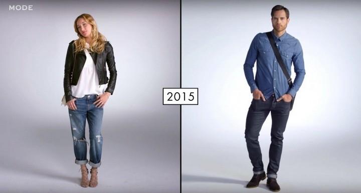 Как менялась мода в течении последних 100 лет (11)