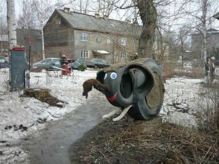 """Дворовое """"искусство"""" (5)"""