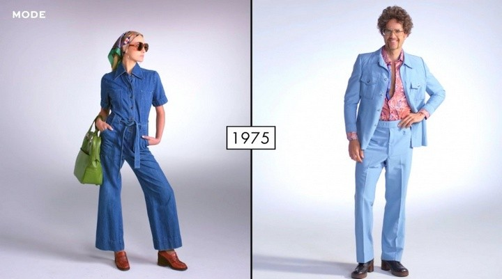 Как менялась мода в течении последних 100 лет (7)