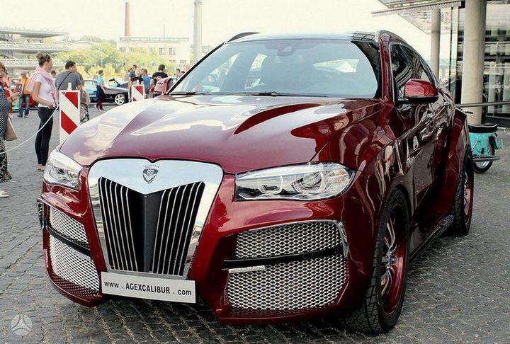 Как из хорошей машины сделать чудовище или тюнинг BMW X6 (1)