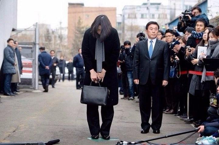 дочь главы компании Korean Airlines Cho Hyun-а