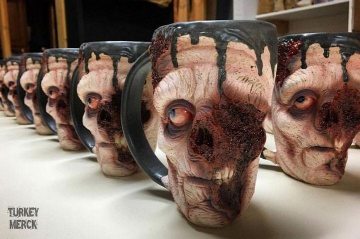 Реалистичные зомби-кружки (10)