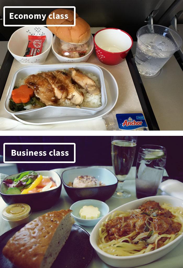 Чем кормят в самолётах крупных авиакомпаний (12)
