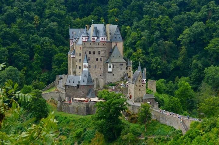 Самые знаменитые замки Германии (6)