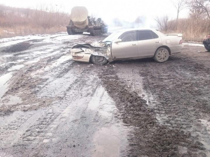 "Toyota Camry vs 2С4 ""Тюльпан"" (2)"