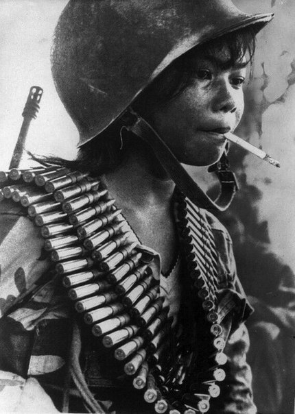 Камбоджийский солдат, 1972 г.
