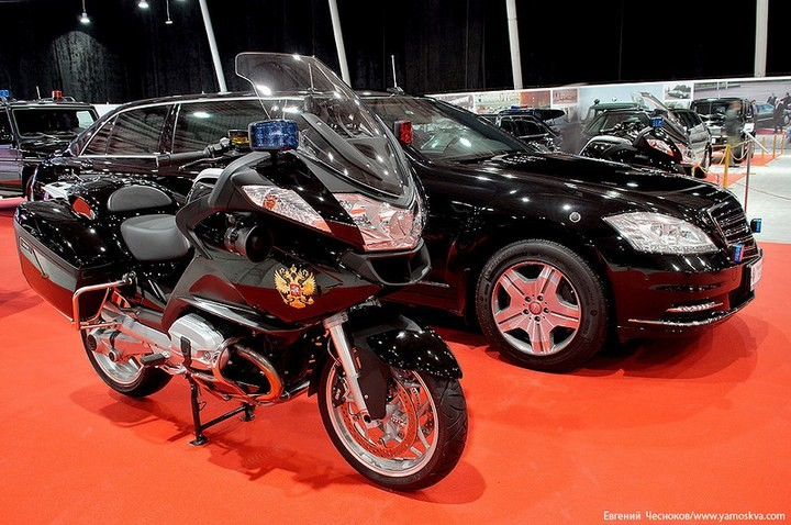 Выставка автомобилей Гаража особого назначения (1)