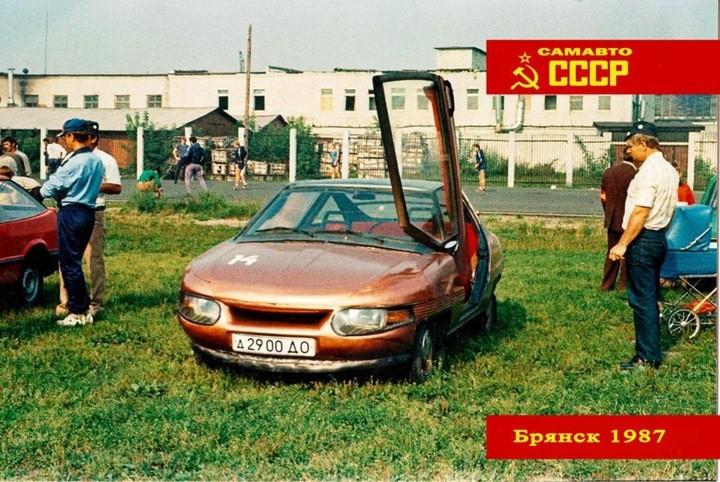 Всесоюзный слет самодельных автомобилей. Брянск, 1987 год (21)