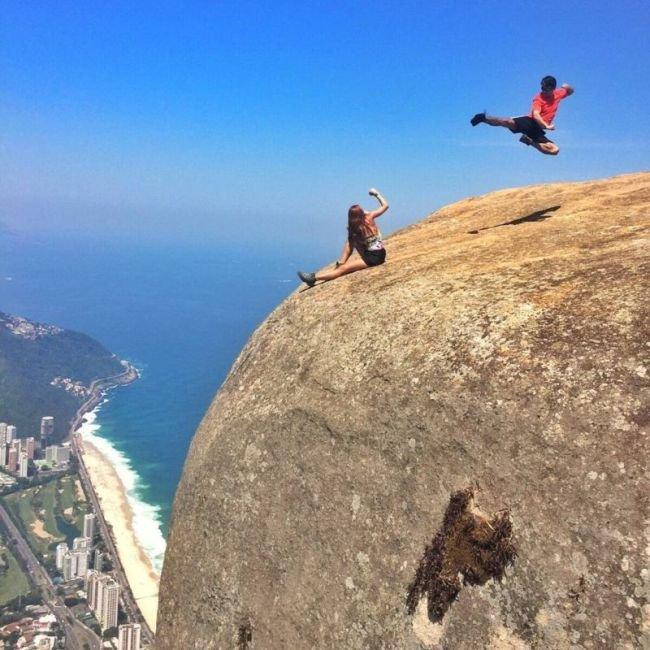 Скала Педра-да-Гавеа в Рио-де-Жанейро (3)