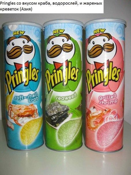 Необычные продукты, которые продаются в других странах (4)