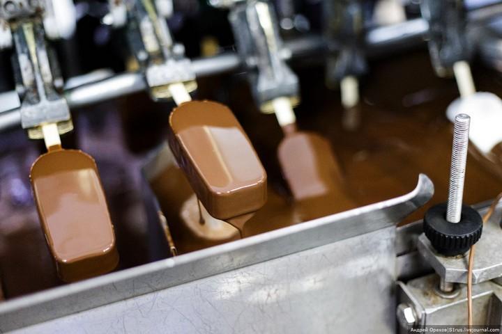 Как делают мороженое. Хладокомбинат «Заречный» (23)
