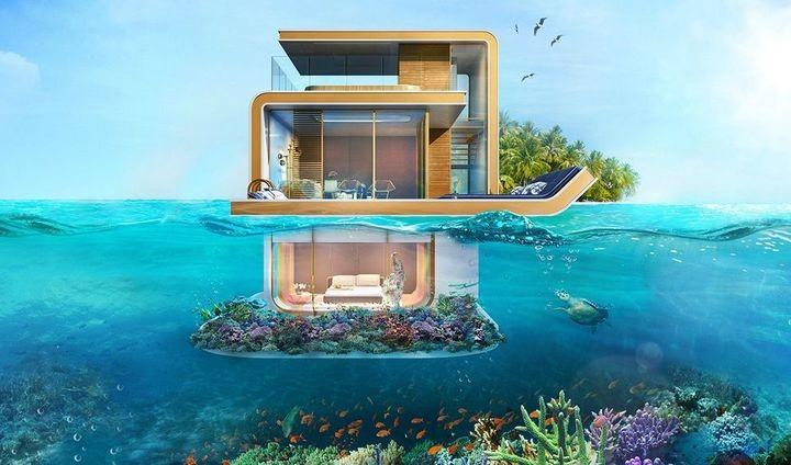 У побережья Дубая появятся удивительные плавучие виллы (1)
