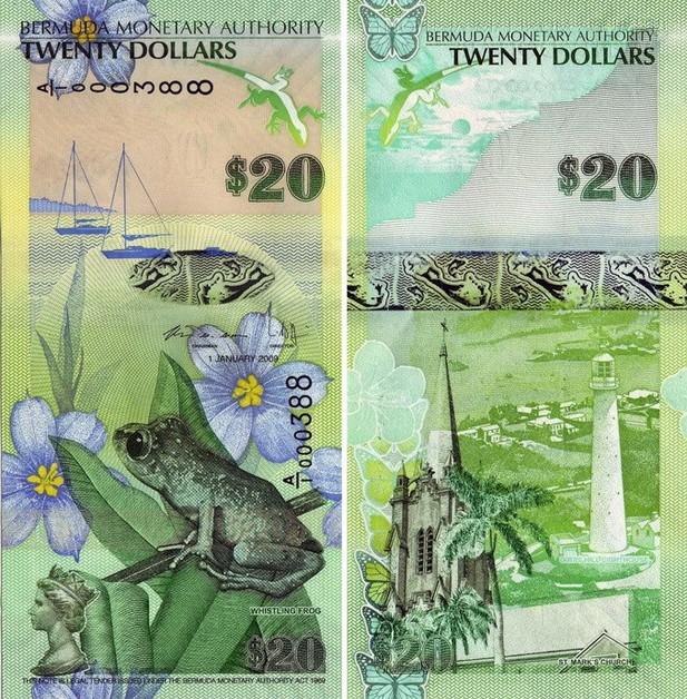 Самые красивые банкноты мира (19)