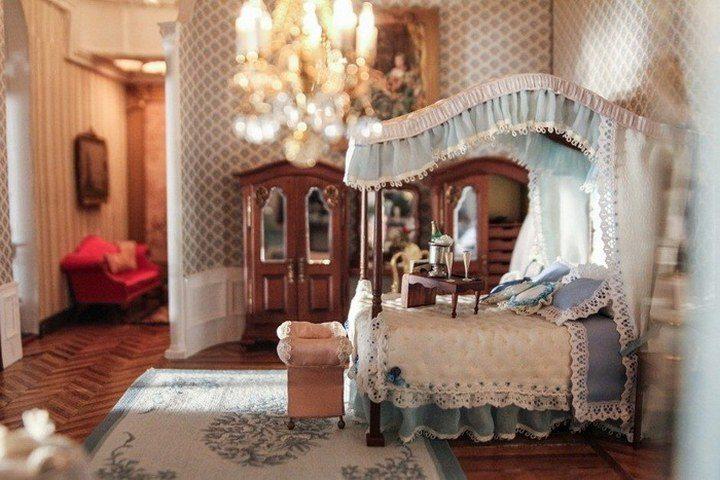 Кукольный домик за $8,5 млн: роскошное искусство миниатюры (10)