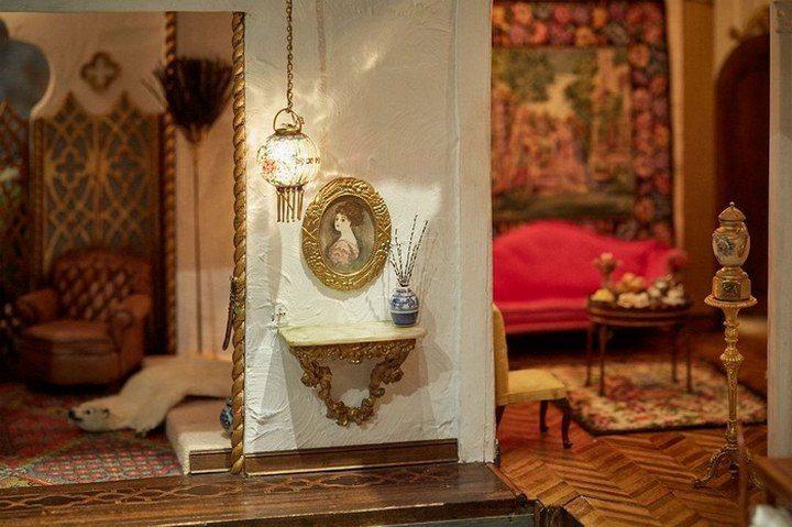 Кукольный домик за $8,5 млн: роскошное искусство миниатюры (8)