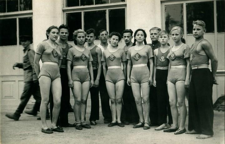 Спорт в послевоенной России. Гимнастика (4)