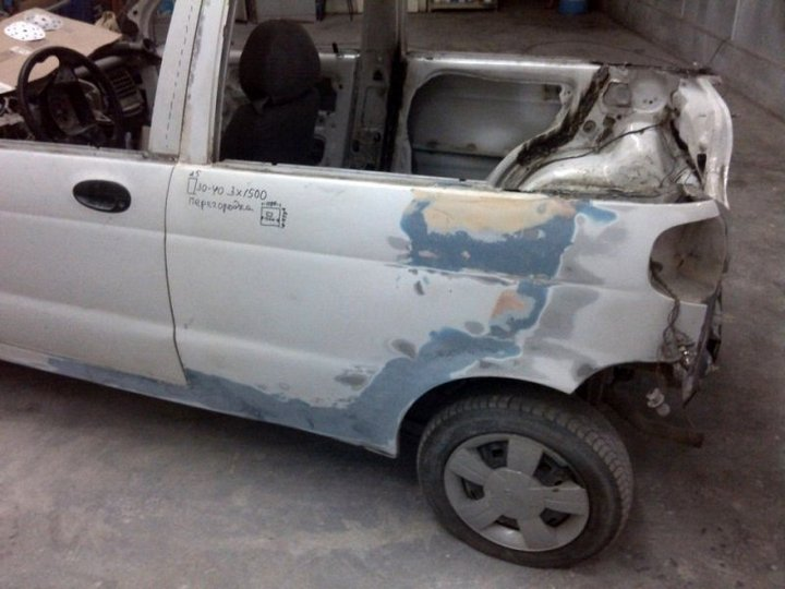 Пикап из Daewoo Matiz (10)