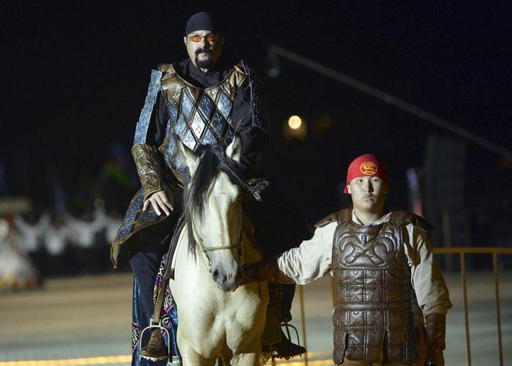 Церемония открытия Всемирных игр кочевников в Кыргызстане (11)