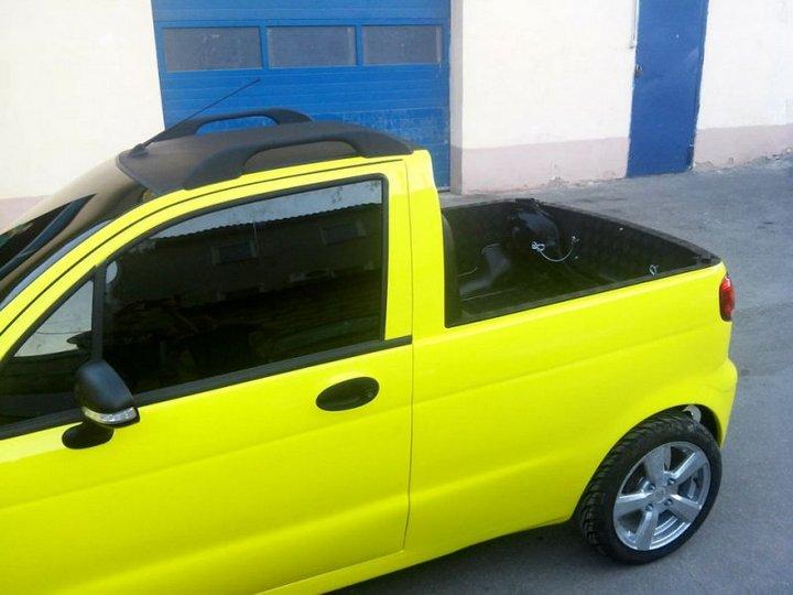 Пикап из Daewoo Matiz (24)