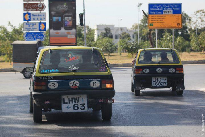 Транспорт в Пакистане, интересные особенности (1)