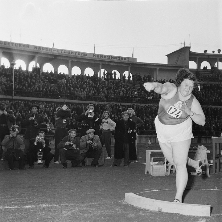 Спорт в СССР. Фотограф Семён Фридлянд (1)