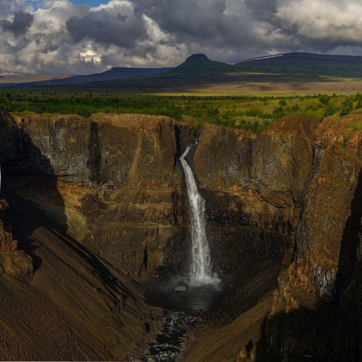 Самый большой водопад в России (1)
