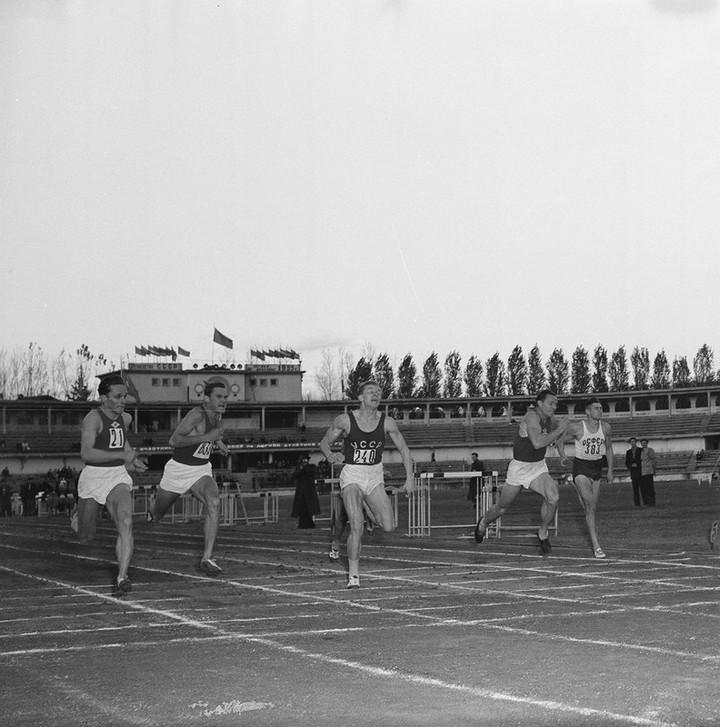 Спорт в СССР. Фотограф Семён Фридлянд (3)