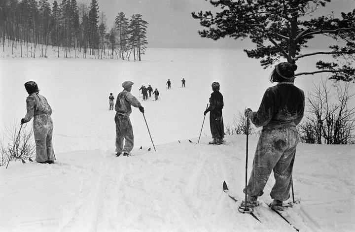 Спорт в СССР. Фотограф Семён Фридлянд (4)