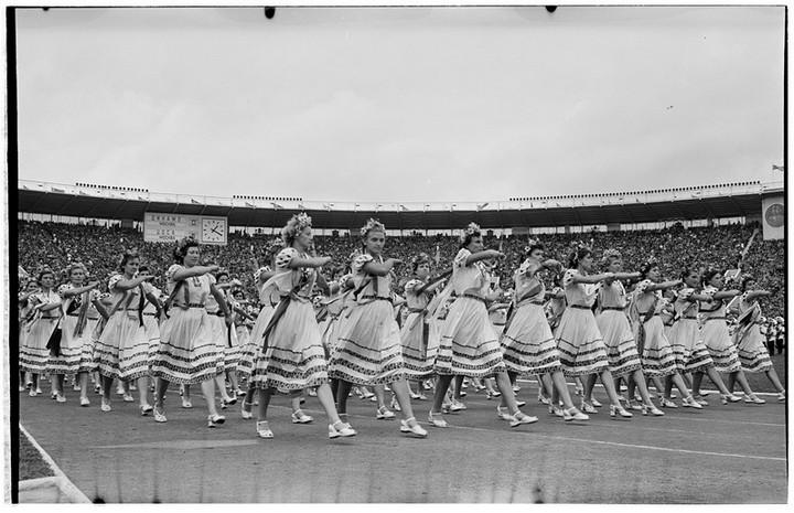 Спорт в СССР. Фотограф Семён Фридлянд (12)