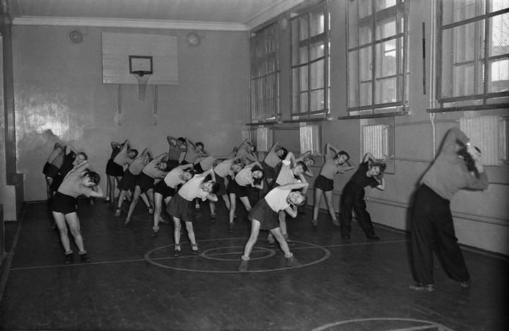 Спорт в СССР. Фотограф Семён Фридлянд (15)