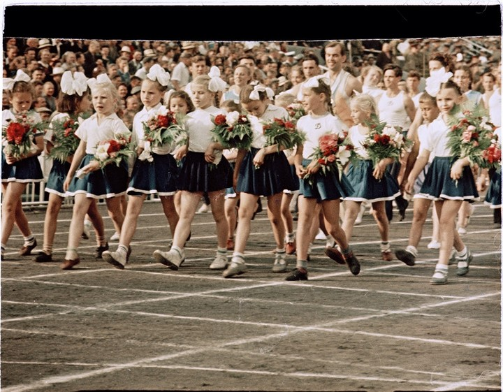 Спорт в СССР. Фотограф Семён Фридлянд (18)