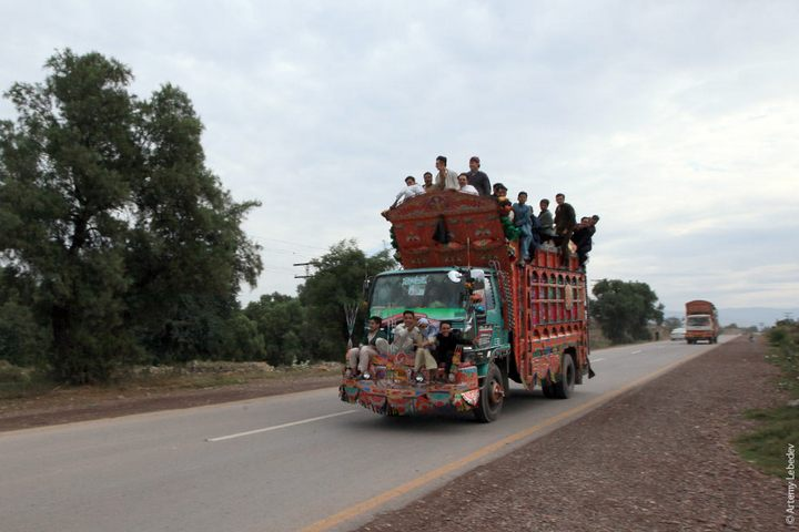Транспорт в Пакистане, интересные особенности (19)