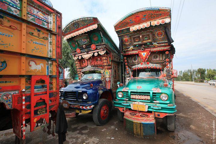 Транспорт в Пакистане, интересные особенности (26)
